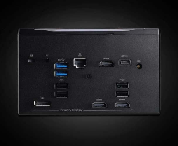 Shuttle X1 получил видеокарту GeForce GTX 1060