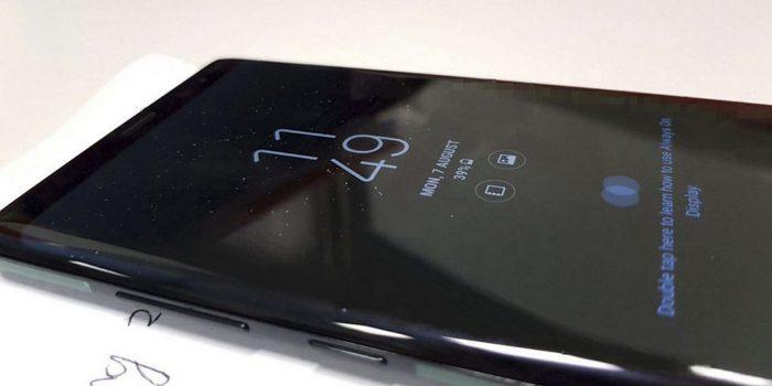 Экран Samsung Galaxy Note 8 должен быть чувствительным к силе нажатия