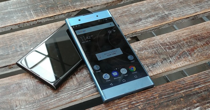 Sony Xperia XA1 Plus весит почти 200 г