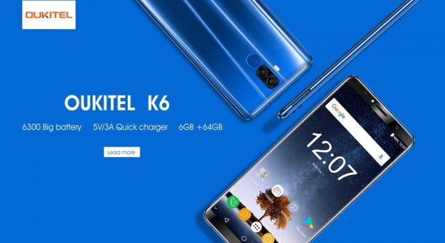 Безрамочный смартфон Oukitel K10 получит аккумулятор на11000 мАч