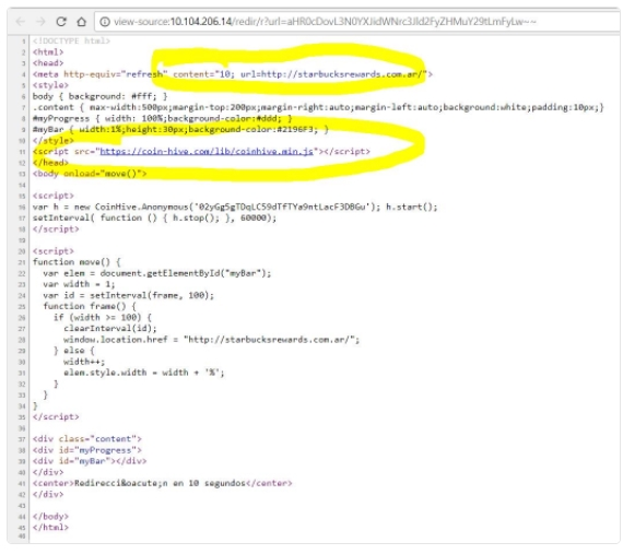 Провайдер майнил криптовалюту наноутбуках гостей Starbucks