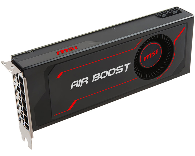 3D-карта MSI Radeon RX Vega 64 Air Boost