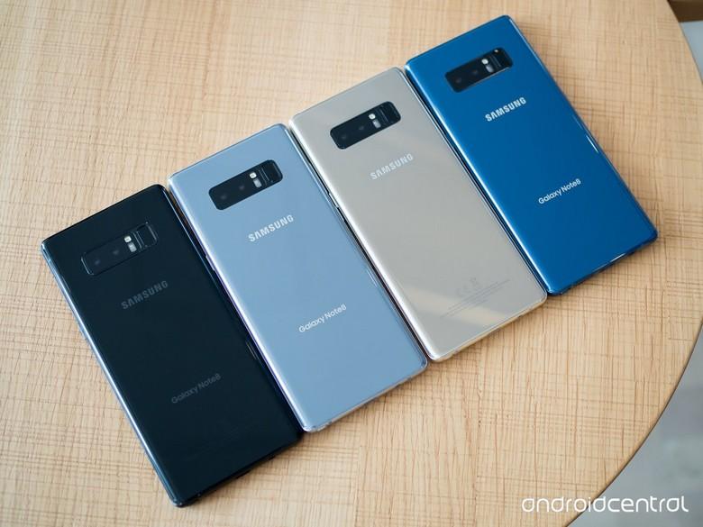 После полной разрядки Samsung Galaxy Note8 может не включиться