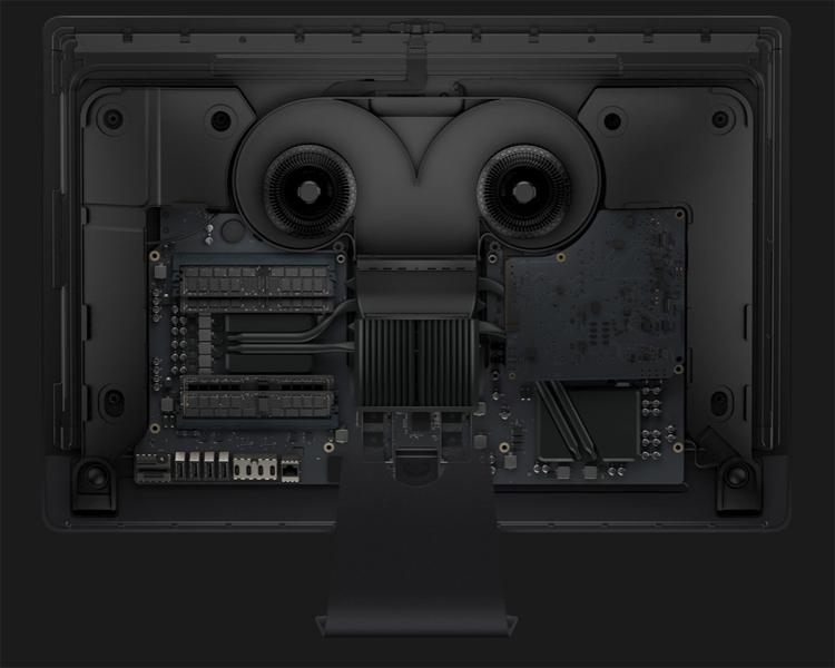 Моноблок iMac Pro лишился отсека для апгрейда ОЗУ вдомашних условиях