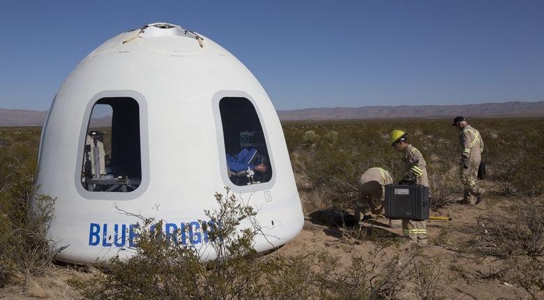 Blue Origin успешно провела запуск новой версии космического ...