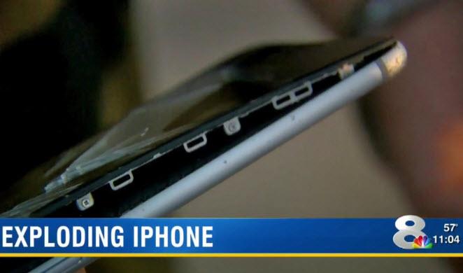 IPhone 6 Plus едва неустроил ночной пожар