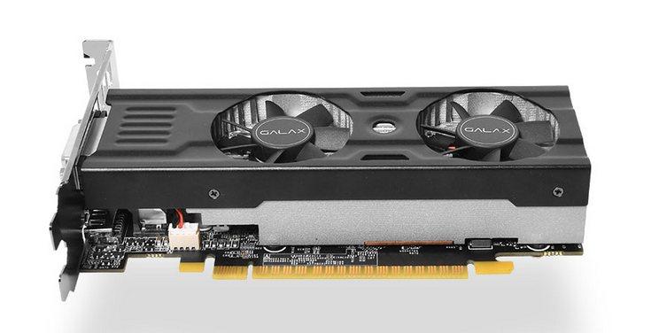 Palit представила GeForce GTX 1050 TiKalmX спассивным кулером