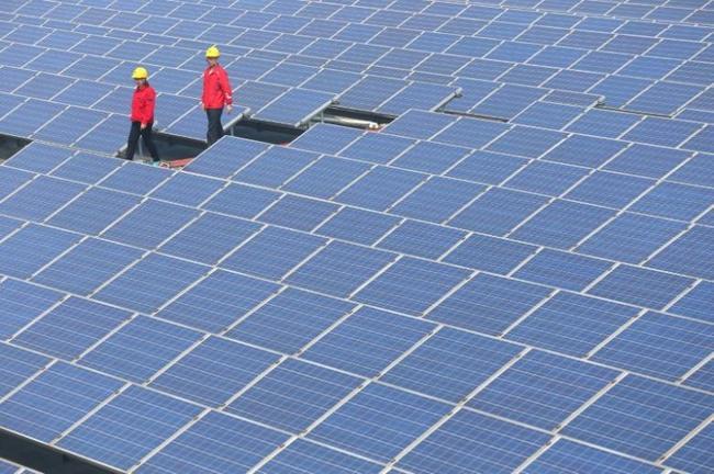 КНР сейчас - крупнейший производитель солнечной энергии