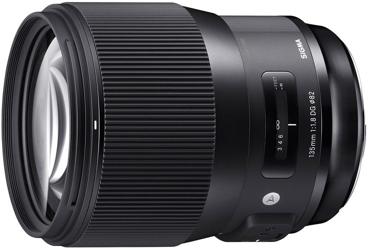Объектив Sigma 135mm F1.8 DG HSM Art будет выпускаться в вариантах для камер Canon, Nikon и Sigma