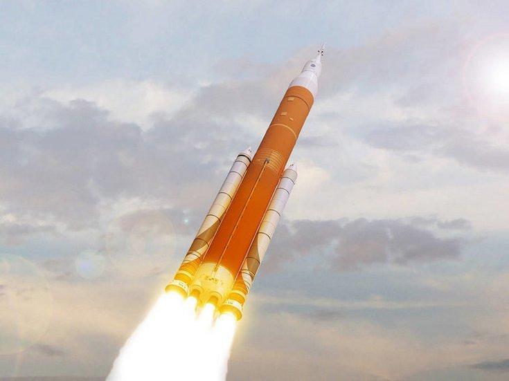 Ракета-носитель SLS может совершить первый запуск лишь в 2021 году