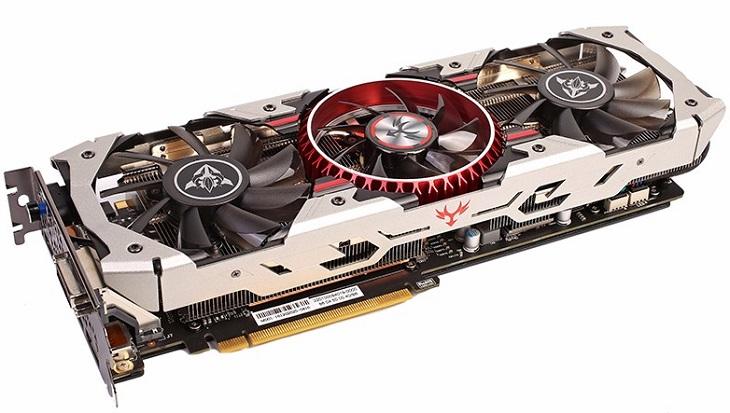 Видеокарта Colorful iGameGTX1080 X-TOP-8G Advanced может автоматически повышать частоту GPU до 1,9 ГГц