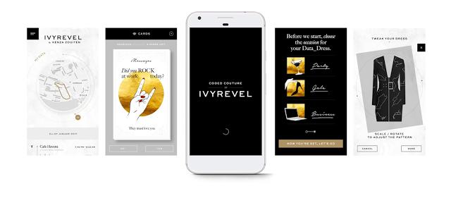 Google и Ivyrevel работают над приложением, которое использует данные о пользователе для создания уникальной одежды