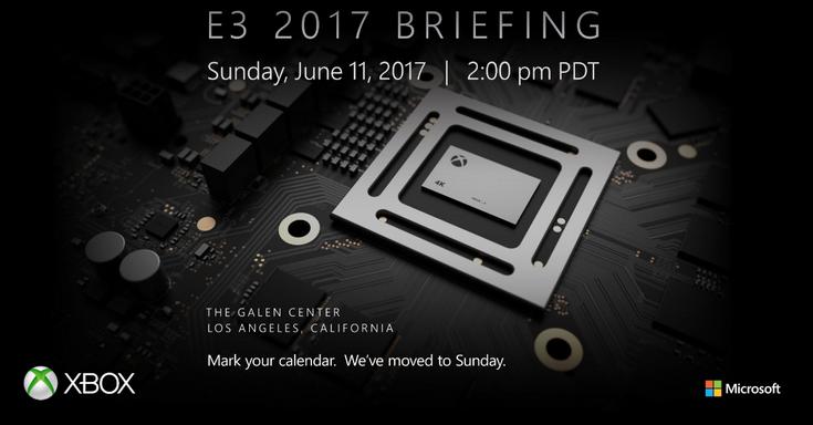 Бриффинг Xbox наE3 2017 стартует 12Июня
