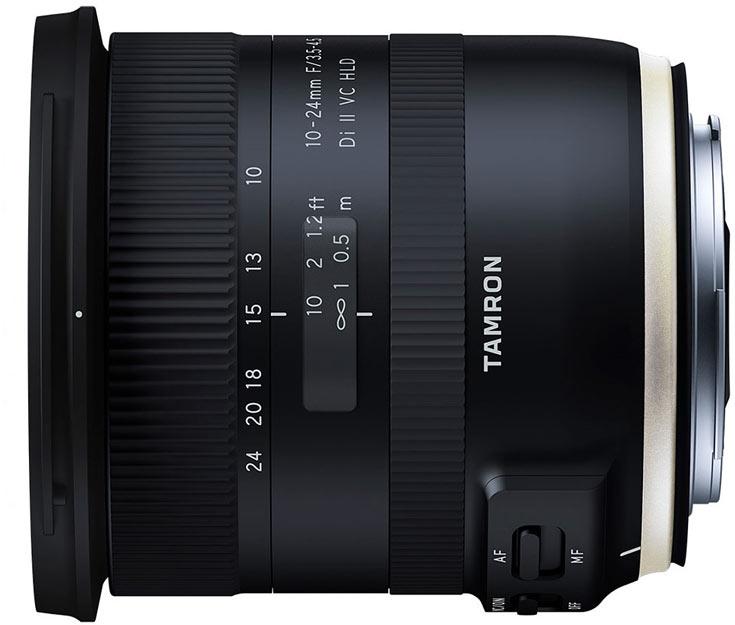 Объектив Tamron 10-24mm F/3.5-4.5 Di II VC HLD (Model B023) предназначен для камер формата APS-C