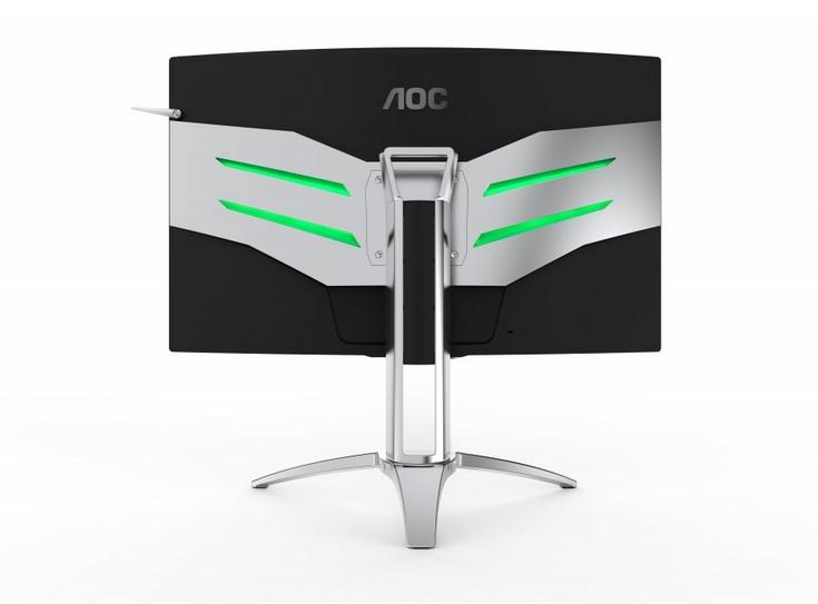 Игровые мониторы AOC AG272FCX и AG322QCX стоят 450 и 600 евро