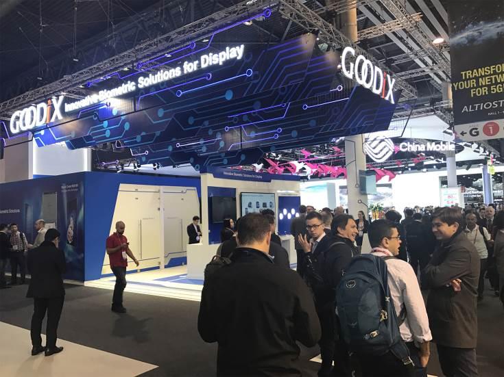 Разработка Goodix демонстрируется на выставке MWC 2017