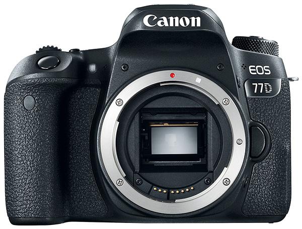 Canon представила зеркальные камеры EOS 800D (Rebel T7i) и EOS 77D