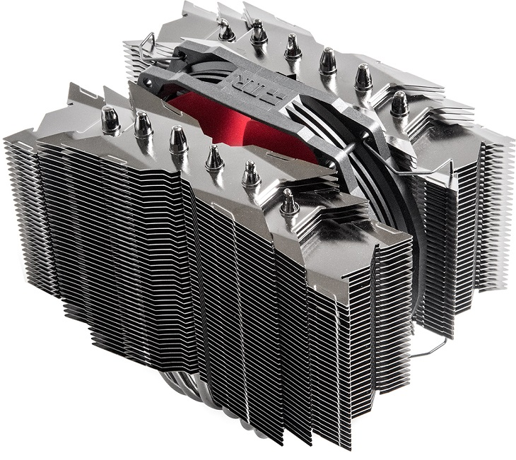 Процессорный кулер Thermalright Silver Arrow ITX-R все же оказался меньше предшественника