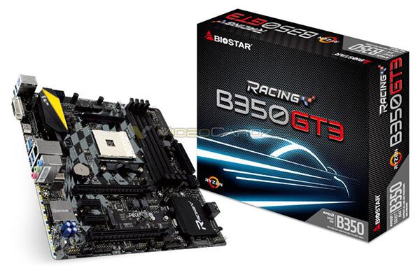 Biostar B350 GT3