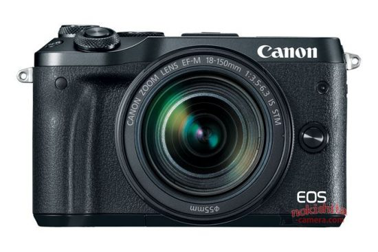 Canon EOS M6 сможет записывать видео Full HD