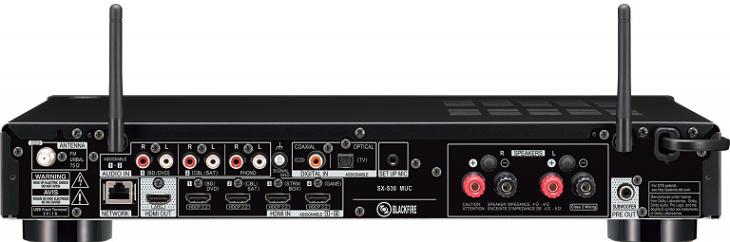 Ресивер Pioneer SX-S30 развивает не самую большую мощность
