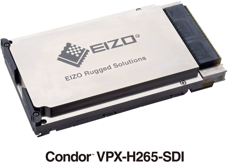 Condor VPX-H265-SDI — первый видеокодер 3U VPX H.265 (HEVC) с двумя входами 3G-SDI