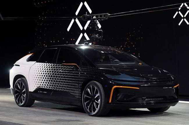 Faraday Future стала значительно скромнее, теперь планируя всего две модели электромобилей вместо семи