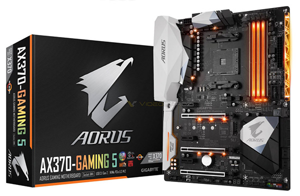 Gigabyte Aourus AX370-Gaming 5