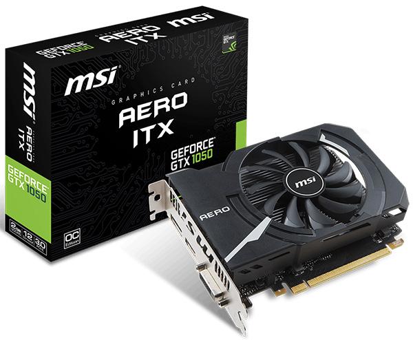 MSI Aero ITX — мощные видеокарты Nvidia Pascal для компактных компьютерных систем