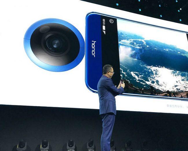 Insta360 выпустит панорамную камеру HonorVR для телефонов Huawei