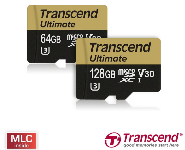 Представлены карты памяти Transcend Ultimate UHS-I U3M Video Speed Class 30 (V30)
