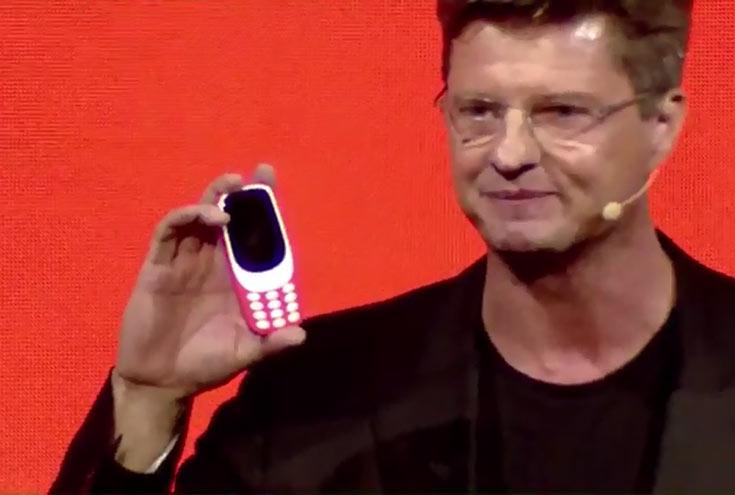 Финны показали обновленную нокиа 3310
