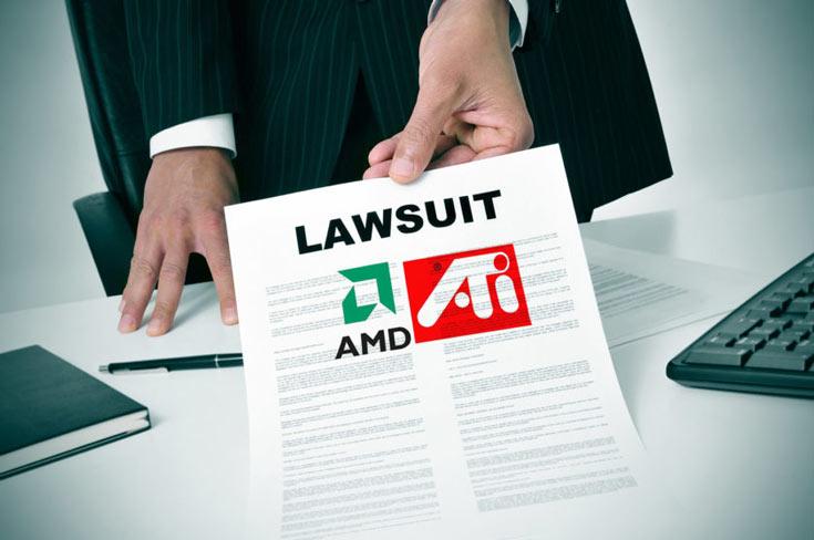 Два из трех патентов, фигурирующих в обращении, были приобретены AMD с покупкой ATI