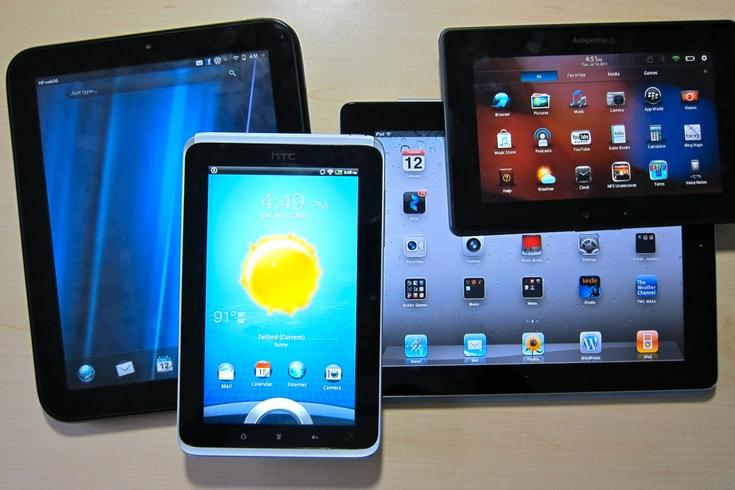 Впродолжающемся спаде рынка планшетов как правило виноваты Apple и Самсунг