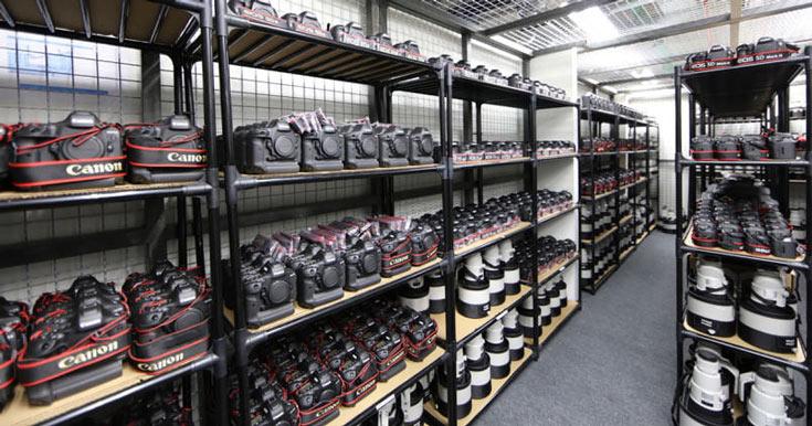 Продажи камер Canon со сменными объективами увеличились