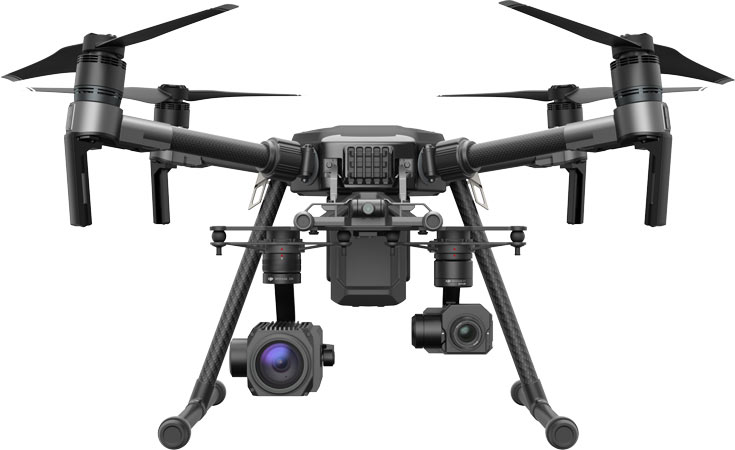 Интересной особенностью новых дронов DJI является наличие приемопередатчика ADS-B