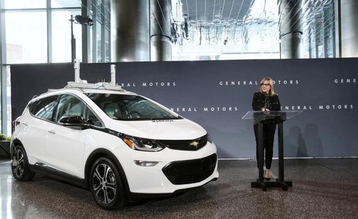 Планы GM звучат грандиознее планов любого другого участника зарождающегося рынка самоуправляемых автомобилей