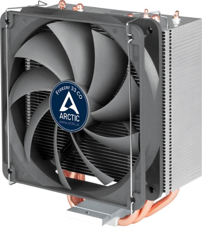 Процессорные охладители Arctic Freezer 33, Arctic Freezer 33 Plus и Arctic Freezer 33 CO совместимы с процессорами AMD в исполнении AM4