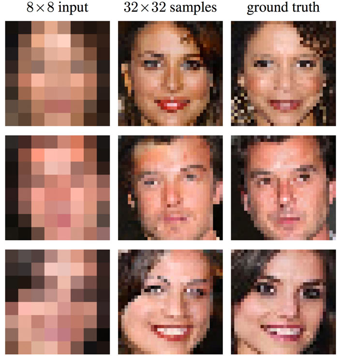 ВGoogle научились восстанавливать фотографии изнескольких пикселей