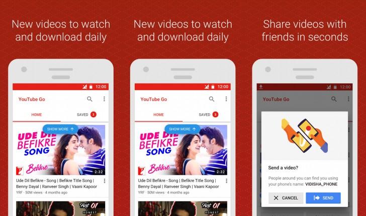 Google выпустила новое приложение YouTube Go для развивающихся интернет-рынков