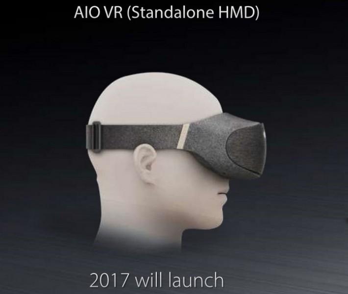 Asus выпустит гарнитуру AIO VR