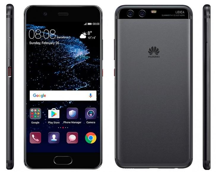 Смартфон Huawei P10 получит 64 ГБ флэш-памяти