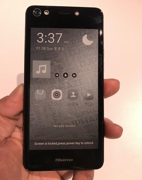Представлен смартфон Hisense A2, оснащенный 2-мя дисплеями