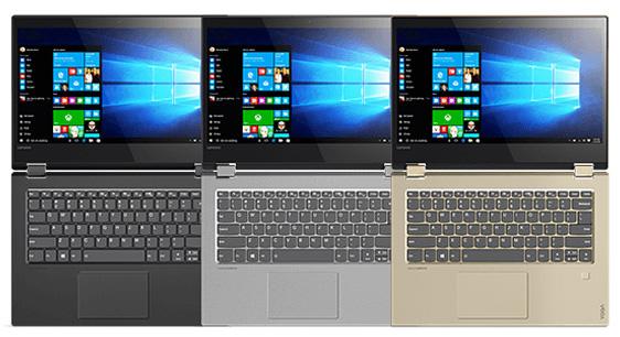 Lenovo готовит к выпуску ноутбуки-трансформеры Yoga 520
