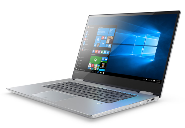 Ноутбук Lenovo Yoga 720 с 15-дюймовым экраном получит игровую видеокарту
