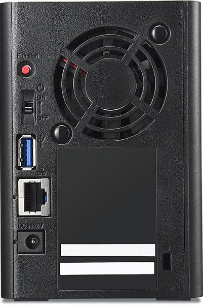 NAS Buffalo LinkStation 520DN основано на необычной платформе