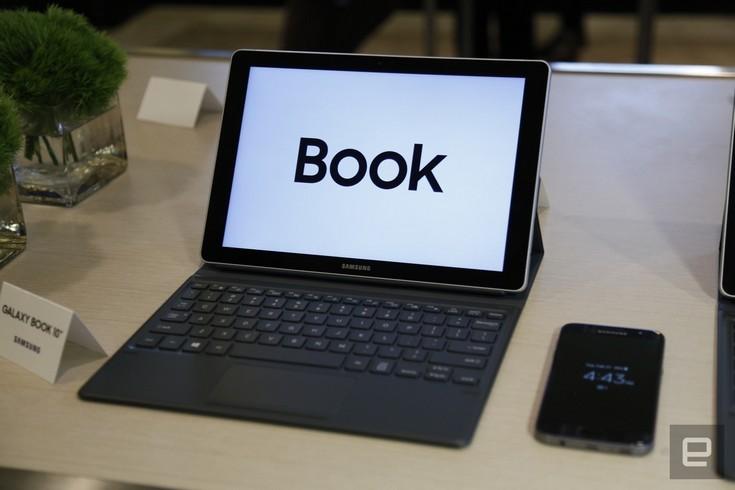 Планшеты Samsung Galaxy Book поставляются с клавиатурами и стилусами