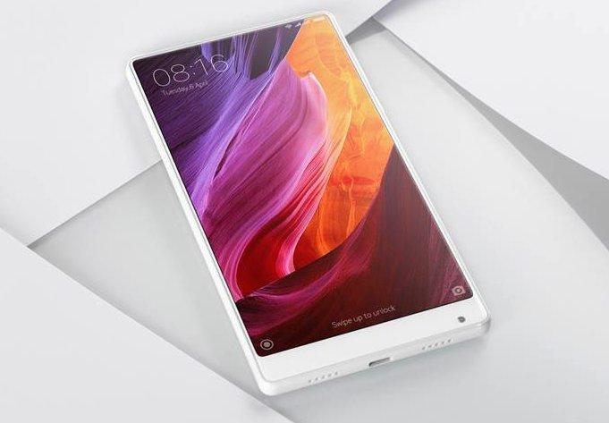 Безрамочный смартфон Xiaomi Mi Mix выходит на мировой рынок