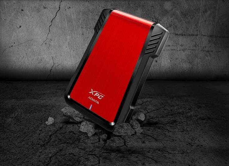 Adata EX500 External Enclosure — «карман» для накопителей формата 2,5 дюйма, оснащённый интерфейсом USB 3.1