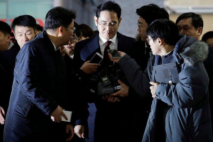 Южнокорейский суд отвергнул запрос прокуратуры наарест руководителя Самсунг